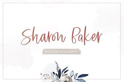 Sharon Baker - Modern Script