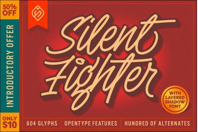 Silent Fighter - 3D Font