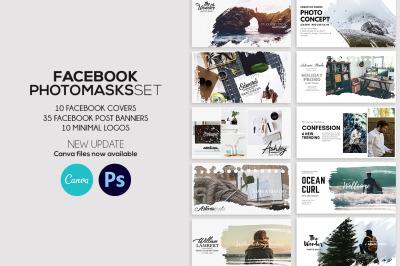 Facebook Photomasks Set