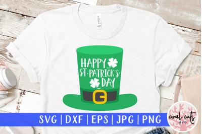 Happy st. patrick's day - St. Patrick's Day SVG EPS DXF PNG