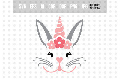 Search Results For Easter Bunny Face Svg