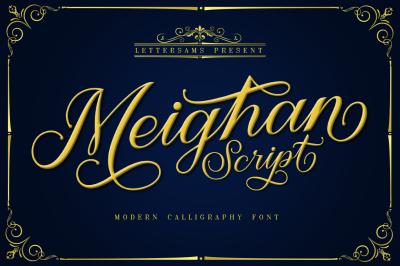 Meighan Script