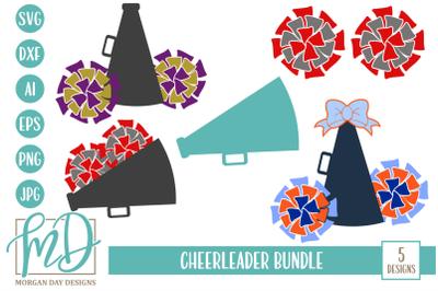 Cheerleader SVG Bundle
