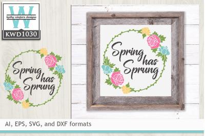 Spring Cutting File KWD1030