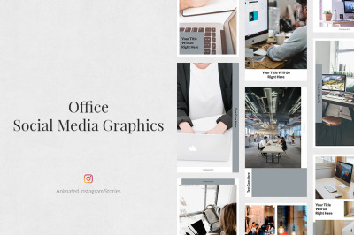 Office Animated Instagram Stories