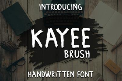 Brush Kayee Font