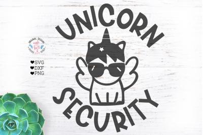Unicorn Security Kids t-shirt Cut File
