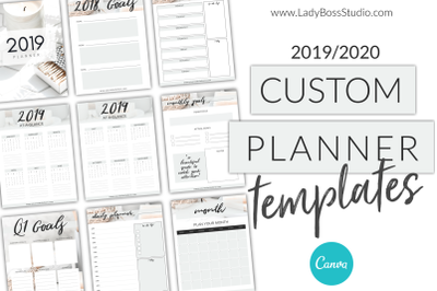 Canva Planner Templates 2019/2020