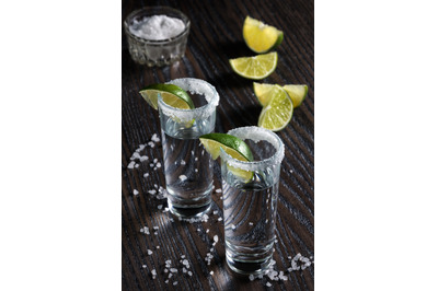 Tequila tall shot glasses