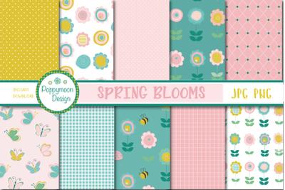Spring blooms paper