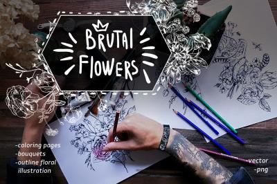Brutal flowers