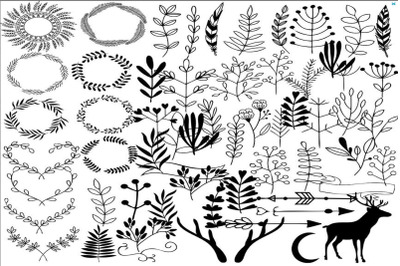 Hand draw clipart
