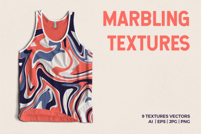 6 Abstract liquid Marble Textures