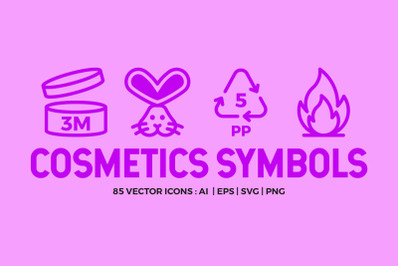 Cosmetic Packaging Symbols