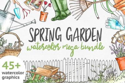 Spring Garden Mega Bundle