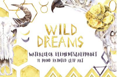 Wild Dreams Watercolor Collection