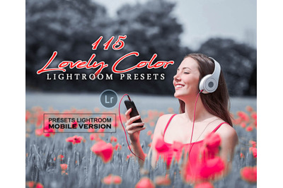 Lovely Color Lightroom Mobile Presets (Adroid and Iphone/Ipad)