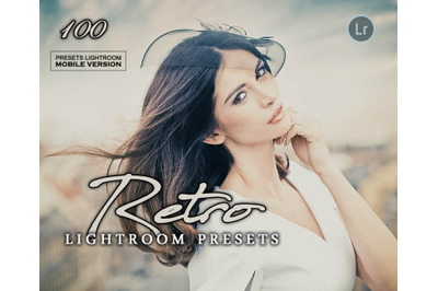 Retro Lightroom Mobile Presets (Adroid and Iphone/Ipad) DNG File