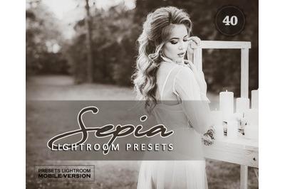 Sepia Sensation Lightroom Mobile Presets (Adroid and Iphone/Ipad)
