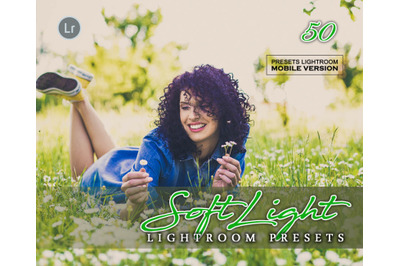 SoftLight Lightroom Mobile Presets (Adroid and Iphone/Ipad) DNG File