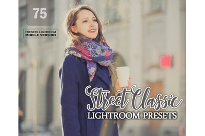 Street Classic Lightroom Mobile Presets (Adroid and Iphone/Ipad)