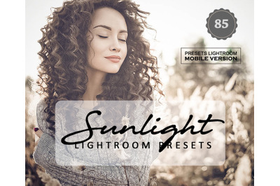 Sunlight Lightroom Mobile Presets (Adroid and Iphone/Ipad) DNG File