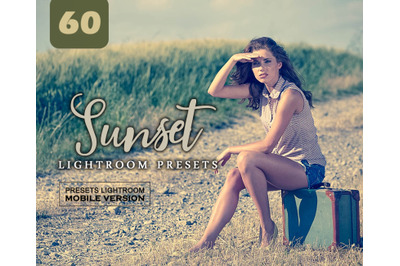 Sunset Lightroom Mobile Presets (Adroid and Iphone/Ipad) DNG File