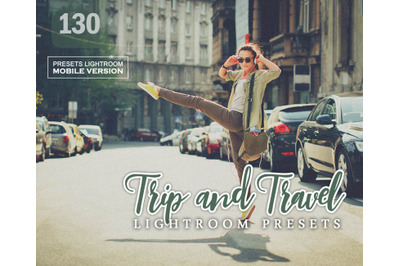 Trip and Travel Lightroom Mobile Presets (Adroid and Iphone/Ipad)