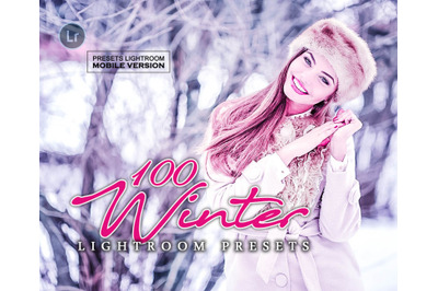 Winter Lightroom Mobile Presets (Adroid and Iphone/Ipad) DNG File