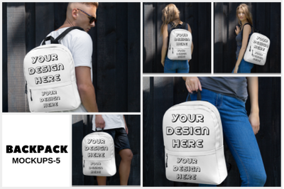 Backpack Mock ups - 5