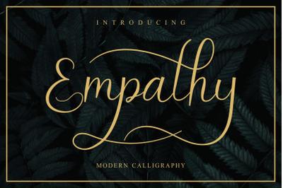 Empathy Modern Script