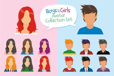 Boys & Girls Avatar Collection Set