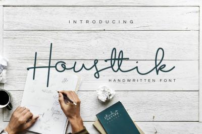 Housttik Handwritten Font