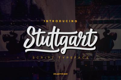 Stuttgart Script Typeface