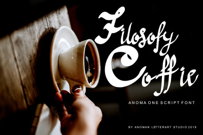 Anoma One Script Font