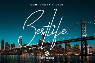 Bestlife - Single Line Font