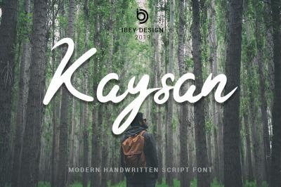 Kaysan - Modern Handwritten