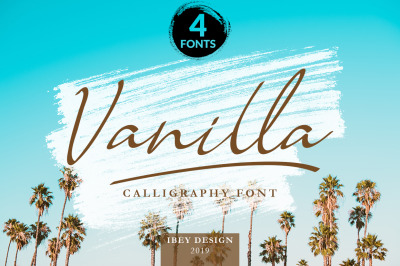 Vanilla - Modern Calligraphy