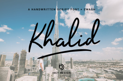 Khalid - Font with Swash