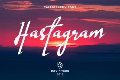Hastagram - Calligraphy Font