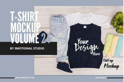 Neo T-Shirt Mockup Volume 24