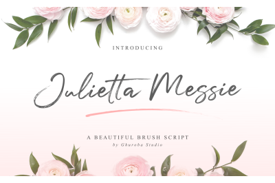 Julietta Messie | Brush Script
