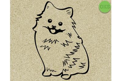 Download Pomeranian Svg Svg Files Vector Clipart Cricut Download Free Best Svg Cutting Files