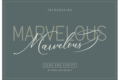 Marvelous | Font Duo