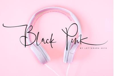 Black Pink Signature