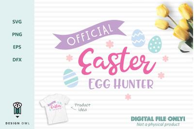 Official Easter egg hunter - SVG file