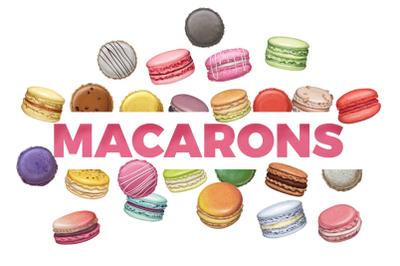 Crazy delicious macarons