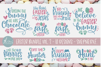 Easter Bundle Vol. 2 - 10 SVG Designs