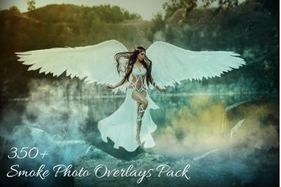 350+ Smoke Photo Overlays Pack