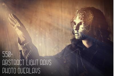 550+ Abstract Light Rays Photo Overlays
